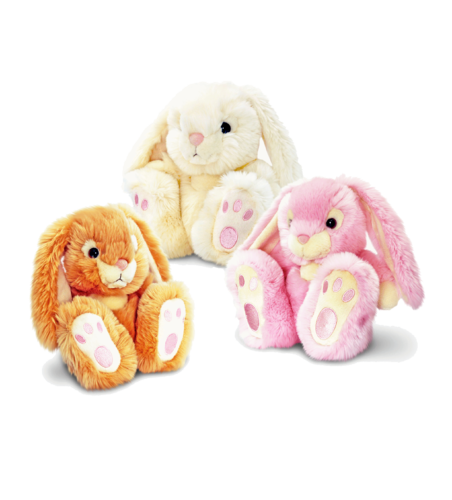 Keel Toys Rabbit Patchfoot 18 cm in 3 Farben