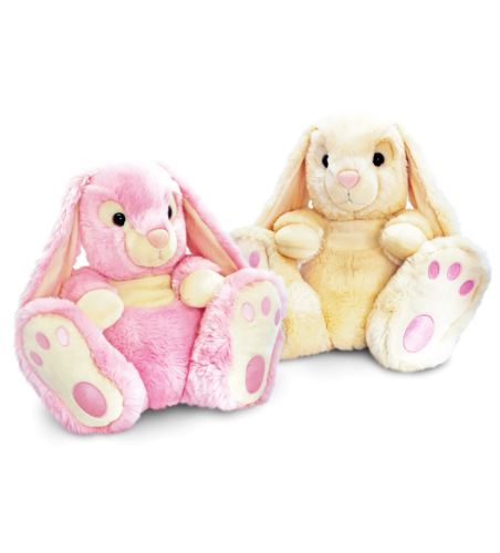 Keel Toys Rabbit Patchfoot 50 cm in 2 Farben
