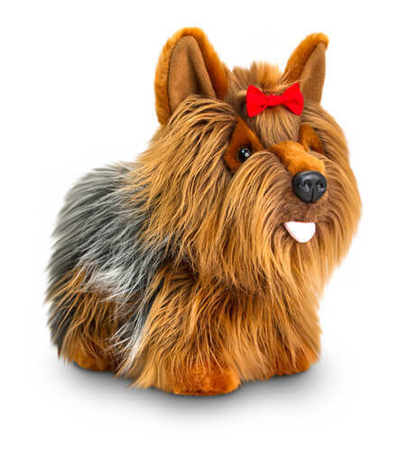 Keel Toys Standing Yorkie Hund Stofftier