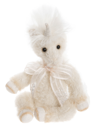 Charlie Bears Minimo Einhorn Little Gem 18 cm